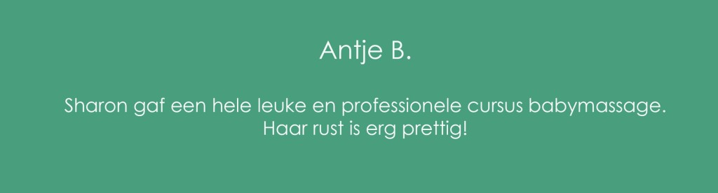 Review Babymassage Antje B