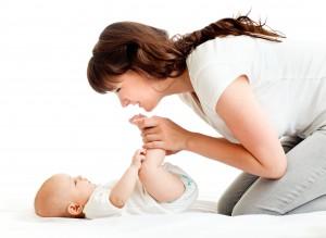 Babymassage en baby yoga