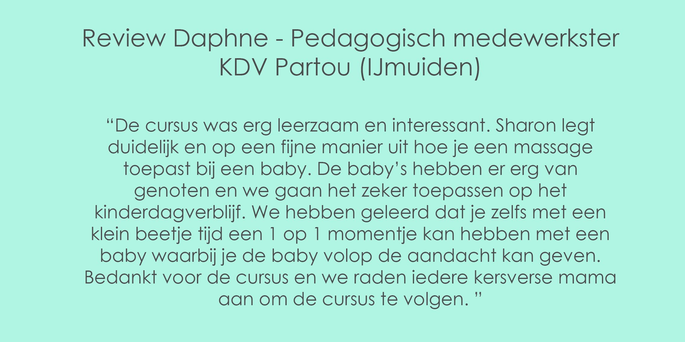 Review KDV Partou groot