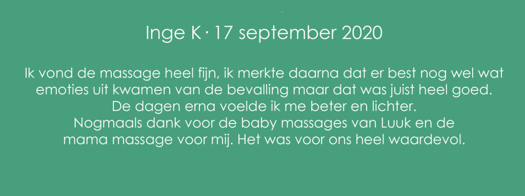 Mama Massage Inge K
