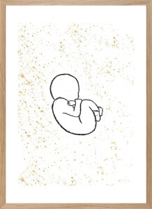 Motherhood Art - My baby